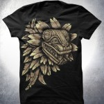 aztec dragon shirt