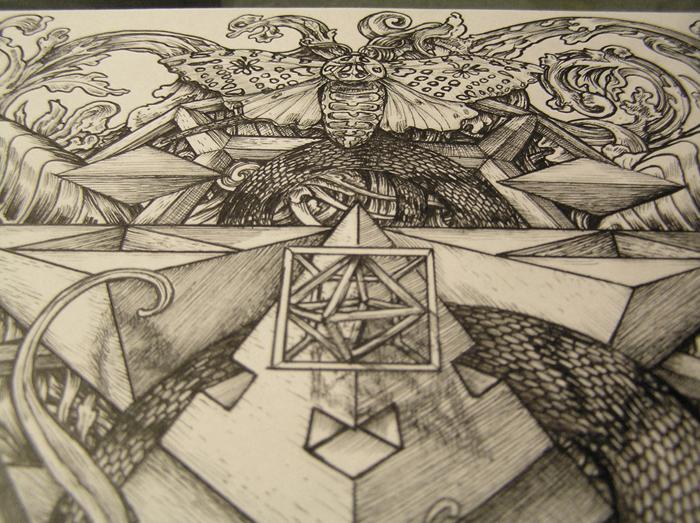 Fractal Skull 2 detail 2