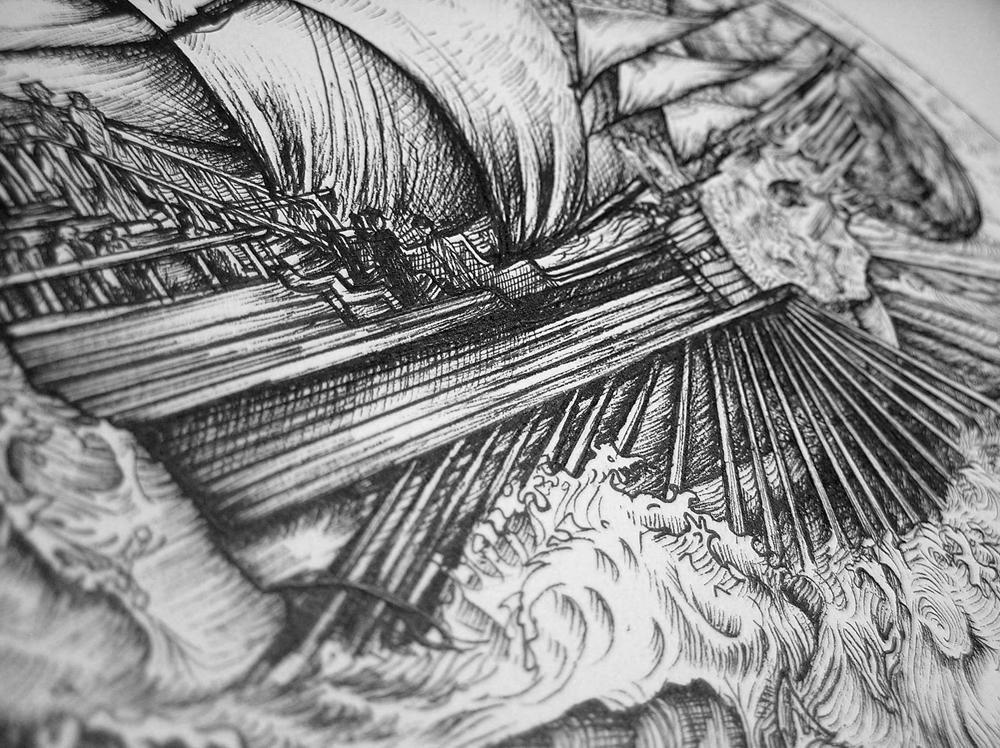 Celestial Ship detail 2