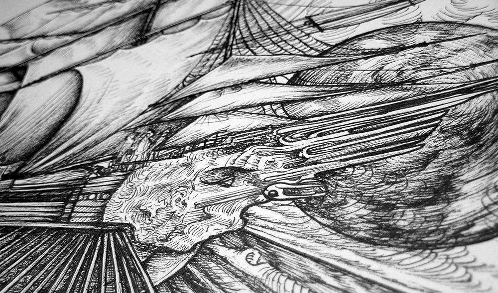 Celestial Ship detail 3