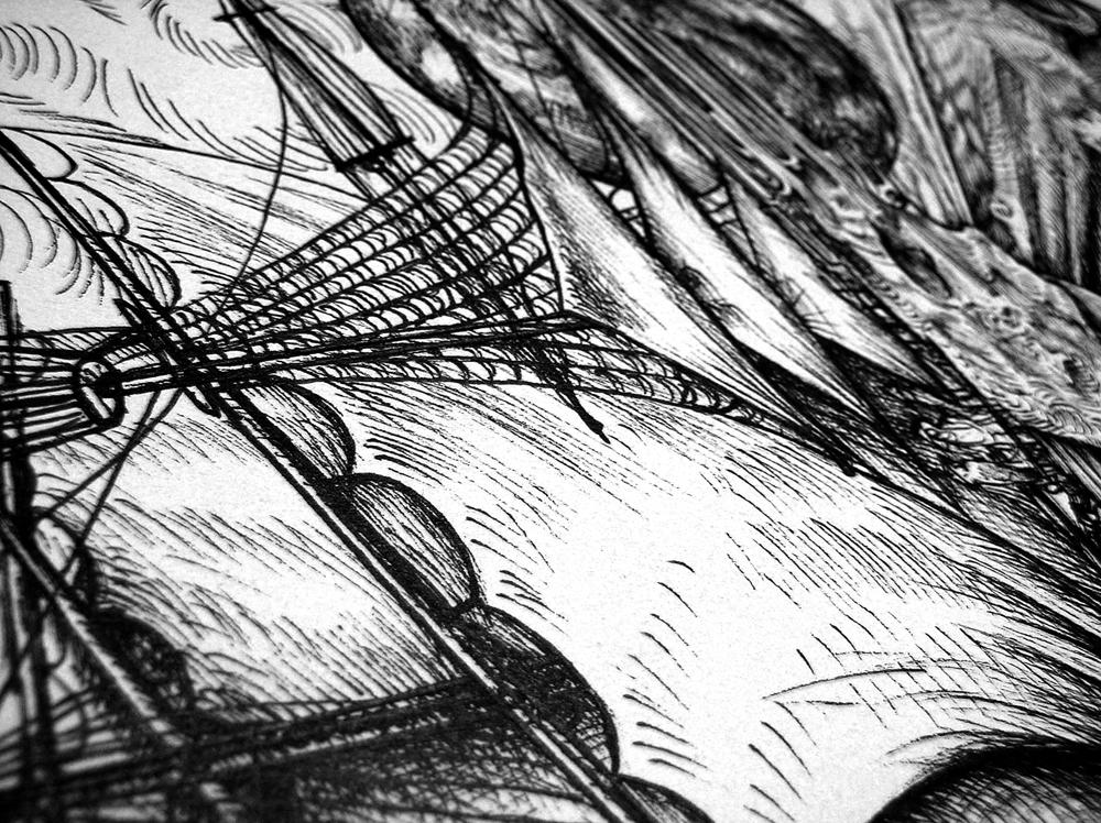 Celestial Ship detail 5