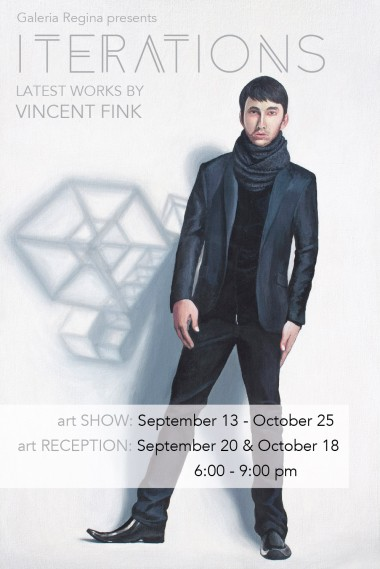 Art Show Flyer - front